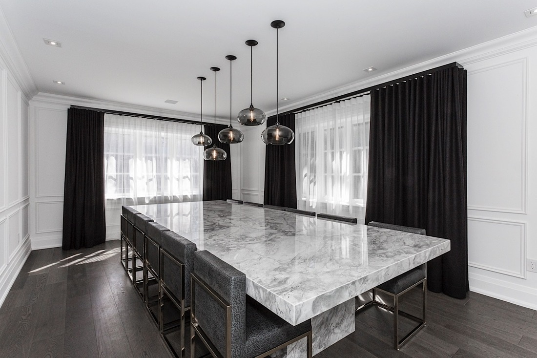Forest Hill Residence - Modern · Masculine · Marble Porn