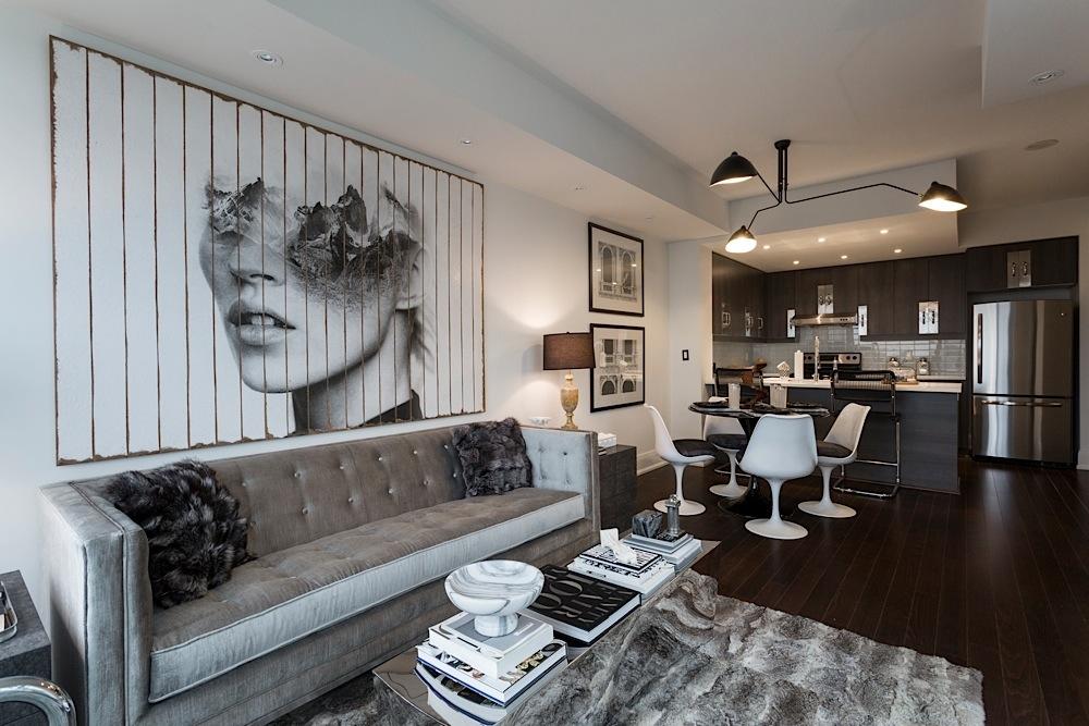 Remington Group Model Suite - Black & White · Model Suite · Contemporary