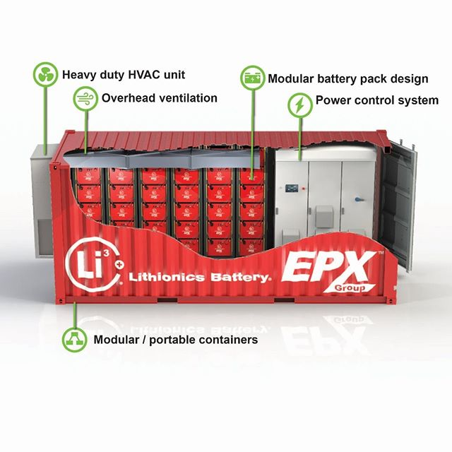 Advanced energy storage by #epxgroup with #lithionics battery and #rhombusenergysolutions . . . . #thosebatteryguys #energystorage #renewableenergy #cleanenergy #solar #solarenergy #battery #lithium #energy #power #cleantech #smartgrid #microgrid #gridscale