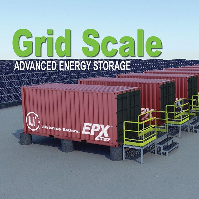Grid scale advanced energy storage is coming... and it's going to change how we power our lives! . . . . #thosebatteryguys #epxgroup #lithionics #energystorage #renewableenergy #cleanenergy #solar #solarenergy #battery #lithium #energy #power #cleantech #futuretech #futurism #smartgrid #microgrid