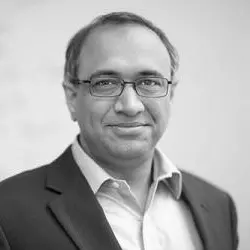 Sanjay Sarma | Advisor  (Ph.D. University of California Berkley, Mechanical Engineering) Professor and Vice President of Open Learning at MIT. World-leading expert in radio frequency ID, sensing, manufacturing, supply chain, automotive technology and digital learning.