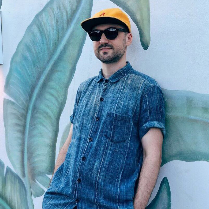 Uproot Andy of Que Bajo. Fame15 Creative and El Gallo hosting Crosstown Cookout in Pittsburgh, Pennsylvania August 12, 2018 at the Mon Wharf headlined by A-Trak.