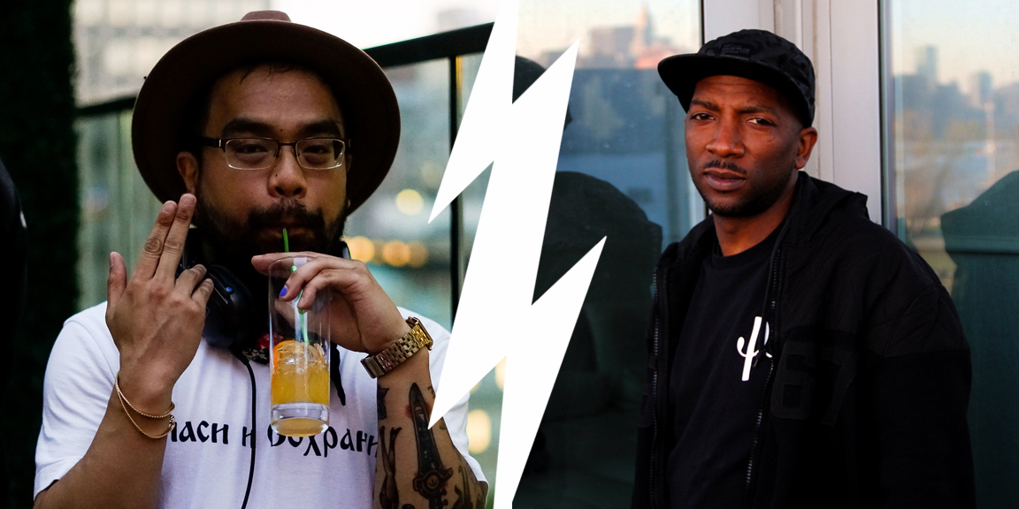 Make Sure You Have Fun stage by RB, Spirit Pgh, DJ Bamboo b2b DJ Yamez.Fame15 Creative and El Gallo hosting Crosstown Cookout in Pittsburgh, Pennsylvania August 12, 2018 at the Mon Wharf headlined by A-Trak.