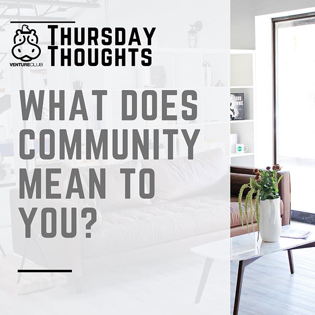 "#ThursdayThoughts for this week: What does community mean to you? 🤝 Share your thoughts in the comments! & check out our new blog post titled, ""The Pillars of Coworking: Community"" on our website now! (Link in bio) . . . . .#ygk #ygkcommunity #coworking #coworkingcommunity #community #kingstoncoworking #kingstonontario #ventureclub #blog #blogpost"
