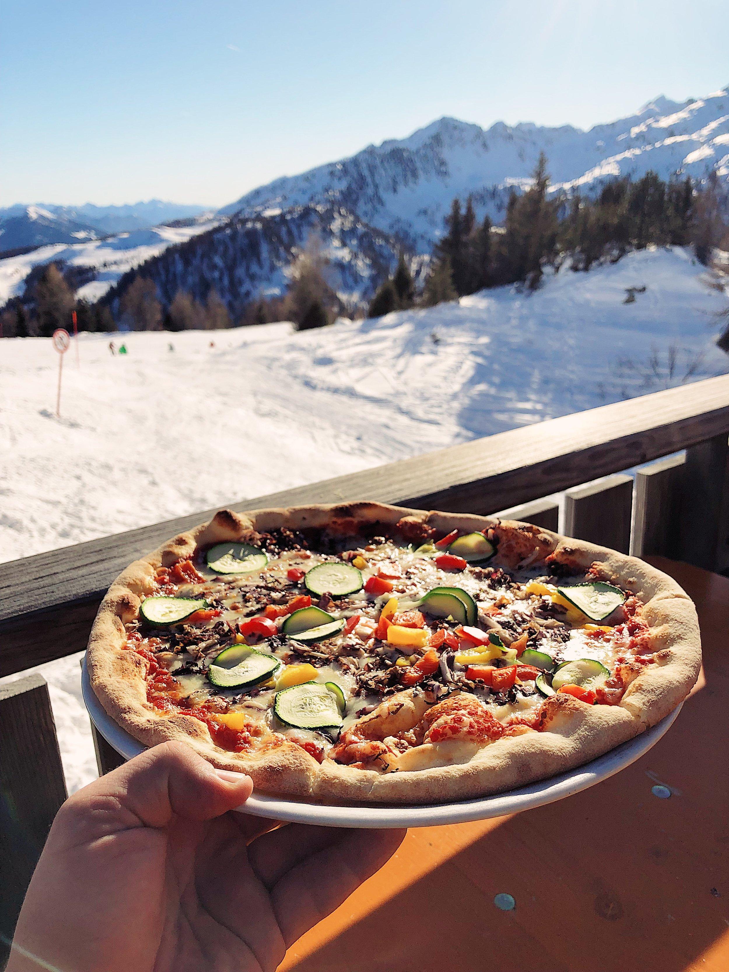 Ciężko na włoskim stoku trzymać dietę.