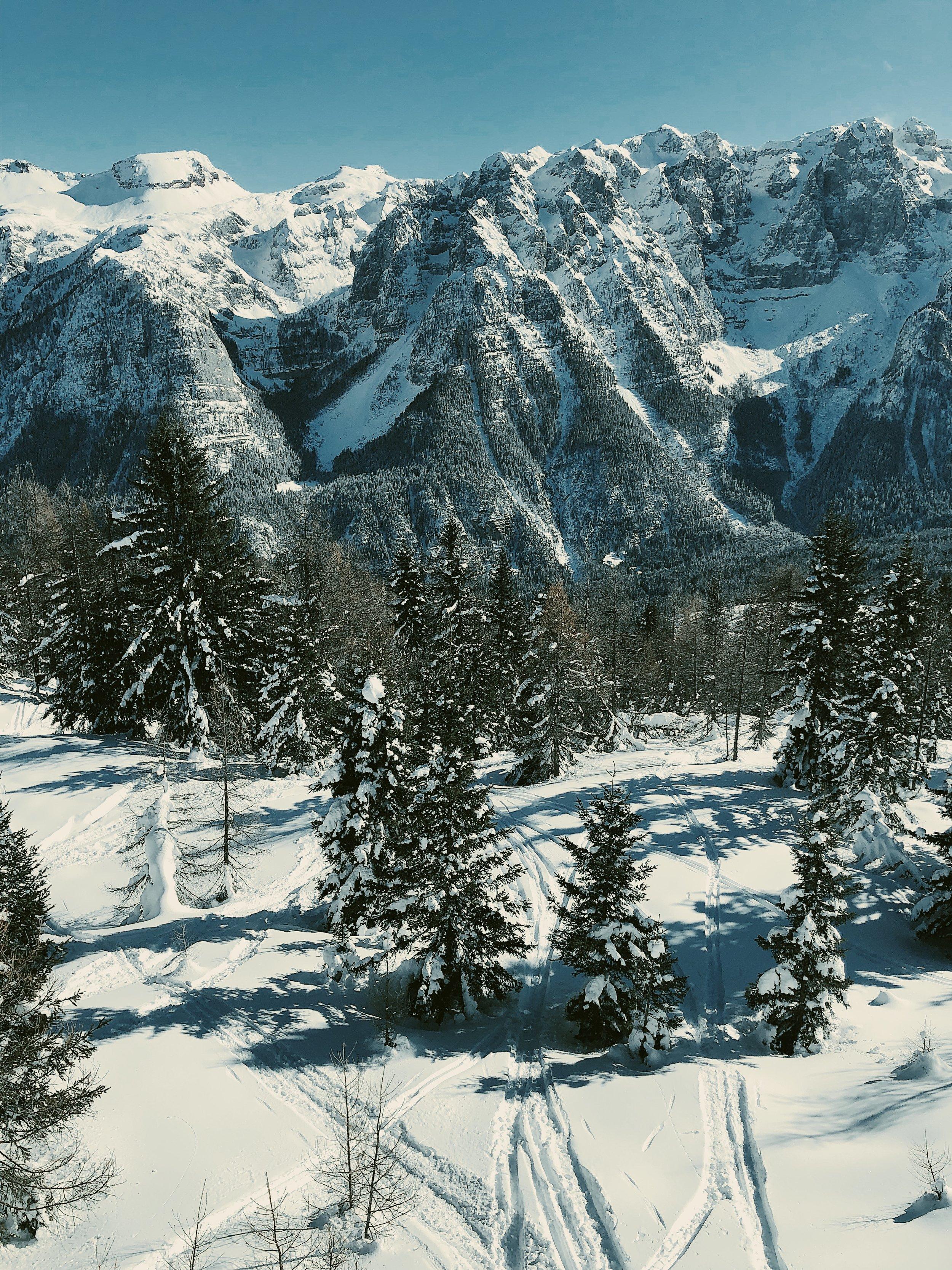 Poza trasami też można fajnie w Alpach polatać. Marileva.