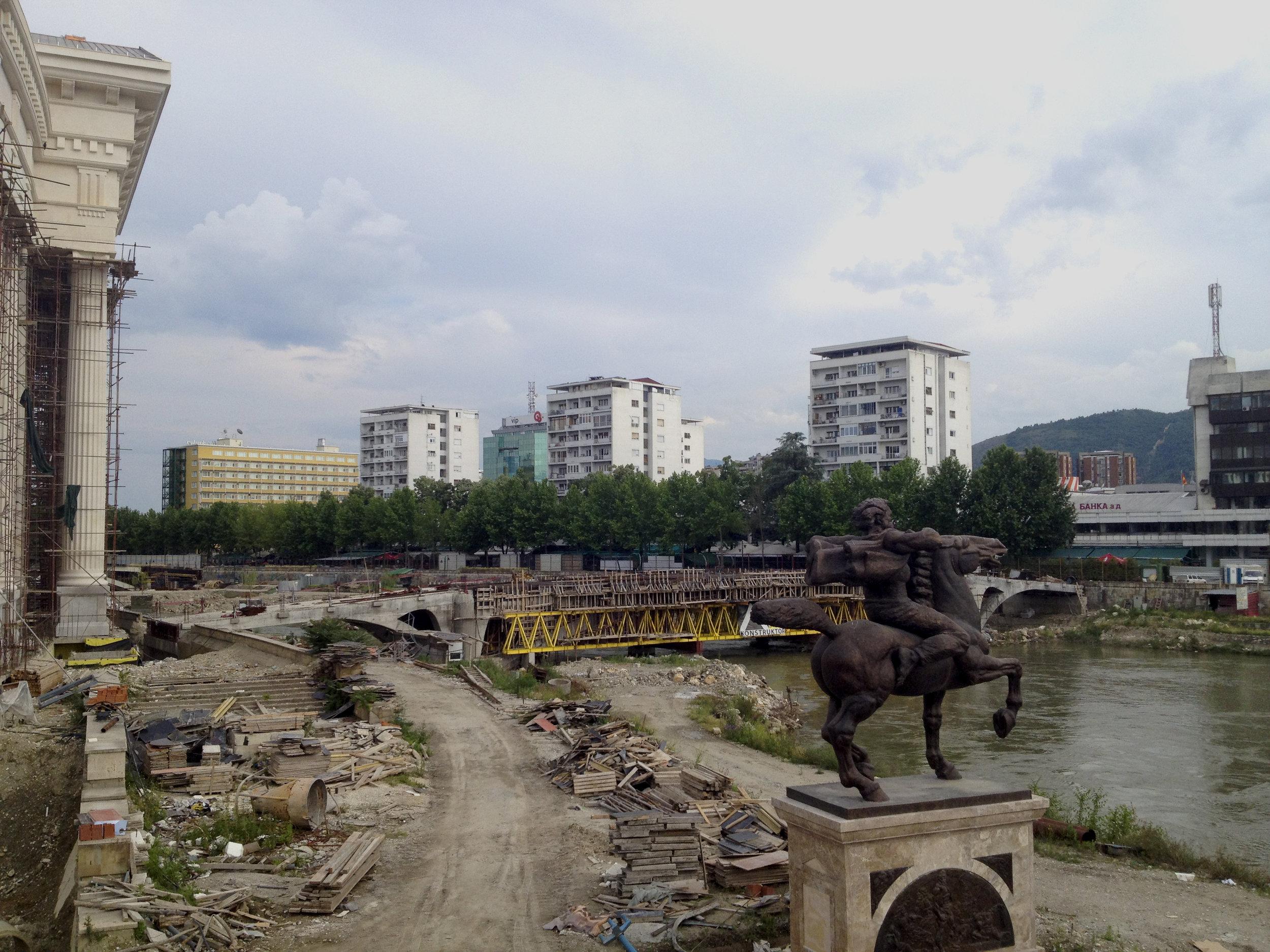 Typowy krajobraz Macedonii.