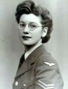 This is probably not Joan Clarke, a Bletchley Park WREN and cryptographer of some stature. Twitter often thinks it is, because GCHQ tweeted this picture a couple of years ago implying that it was her. But then they deleted the tweet, ignored all requests for clarification, and pretended it never happened. (Perhaps they've lost the intern's WhatsApp password.) Who it is, I do not know, and I hope I can be forgiven for posting her image in the hope someone can tell me.  Joan Clarke was certainly a WREN. Her effective position, rather than military rank, in the Bletchley Park hierarchy is not clear; she does seem to have been specifically recruited for her mathematical talent, and to have spent at least some time doing the WREN-work, but it's not obvious if she was intended from the beginning to join the mainly male elite analysts, or if her talent was recognised while at BP; I suspect the former.  This is also not Keira Knightley.