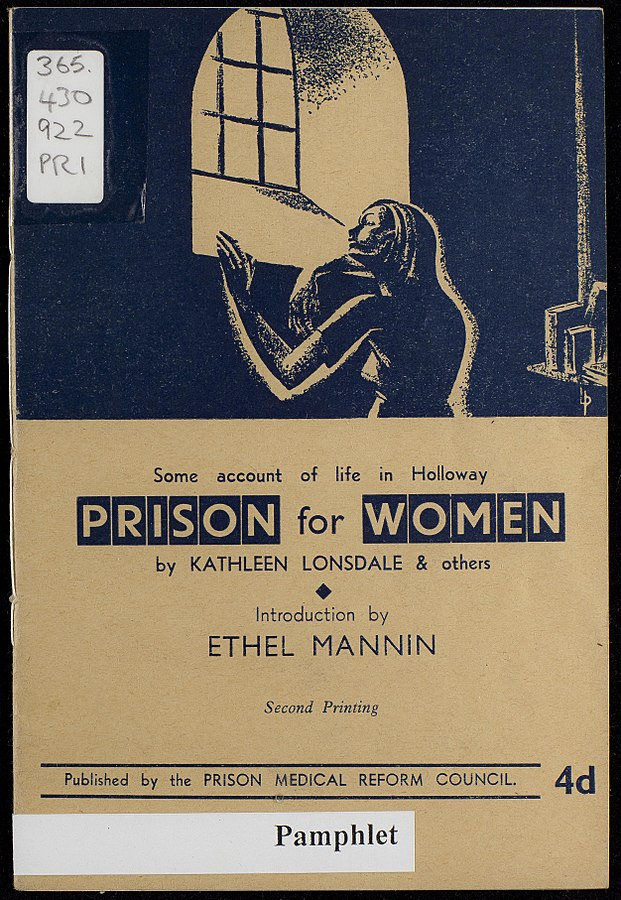 From The Women's Library collection at LSE, via  Wikipedia .