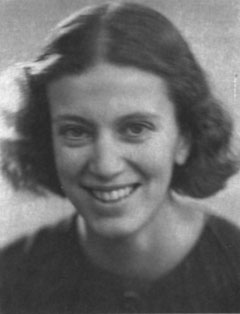 Dorothy Hodgkin, about 1935. (From  IUCr , and probably out of copyright).