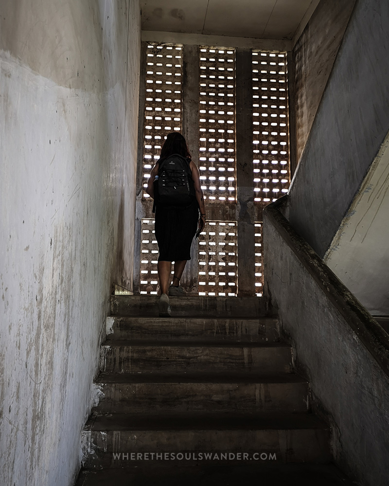 Visiting Tuol Sleng, the infamous prison