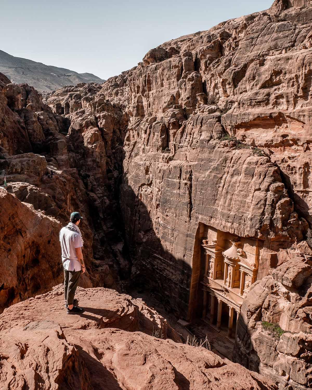 Explore Petra in Jordan