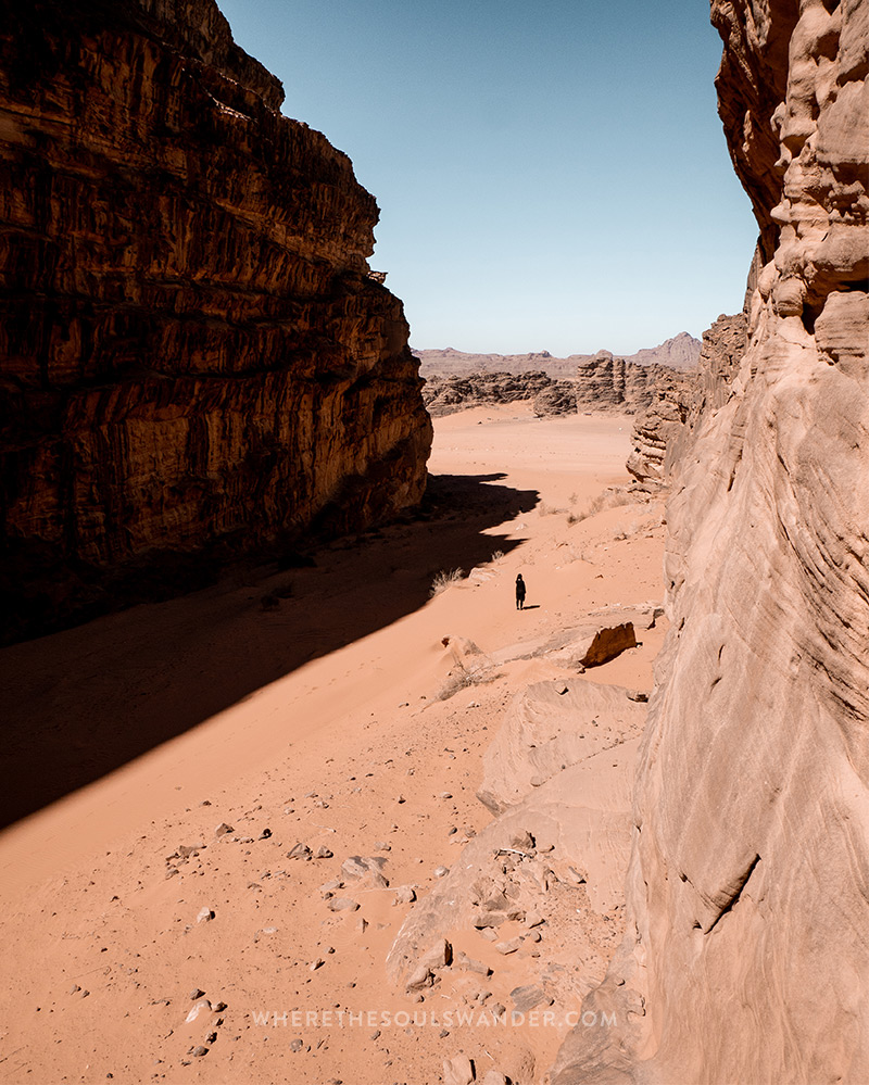 Wander around the Wadi Rum