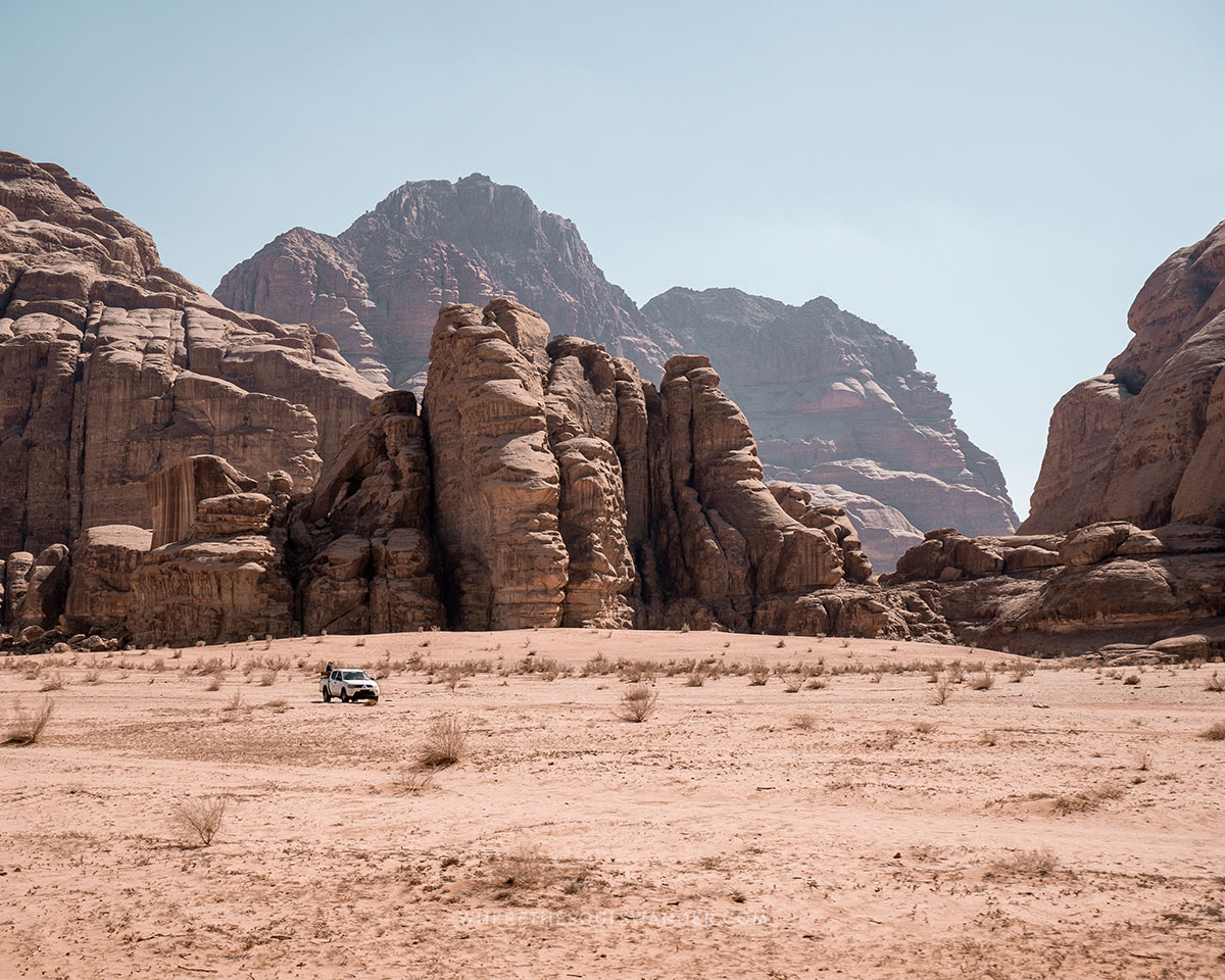 How to  get to Wadi Rum, Jordan