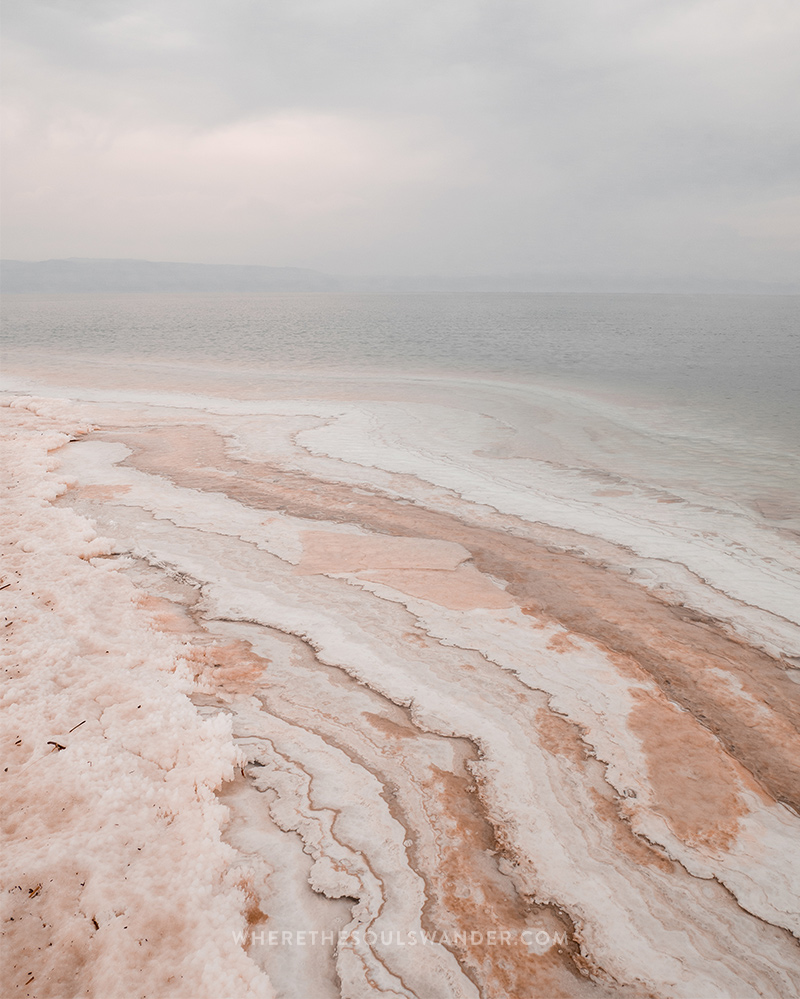 As the lowest point on earth the uv radiation is lower which makes the dead sea even better for natural healing.