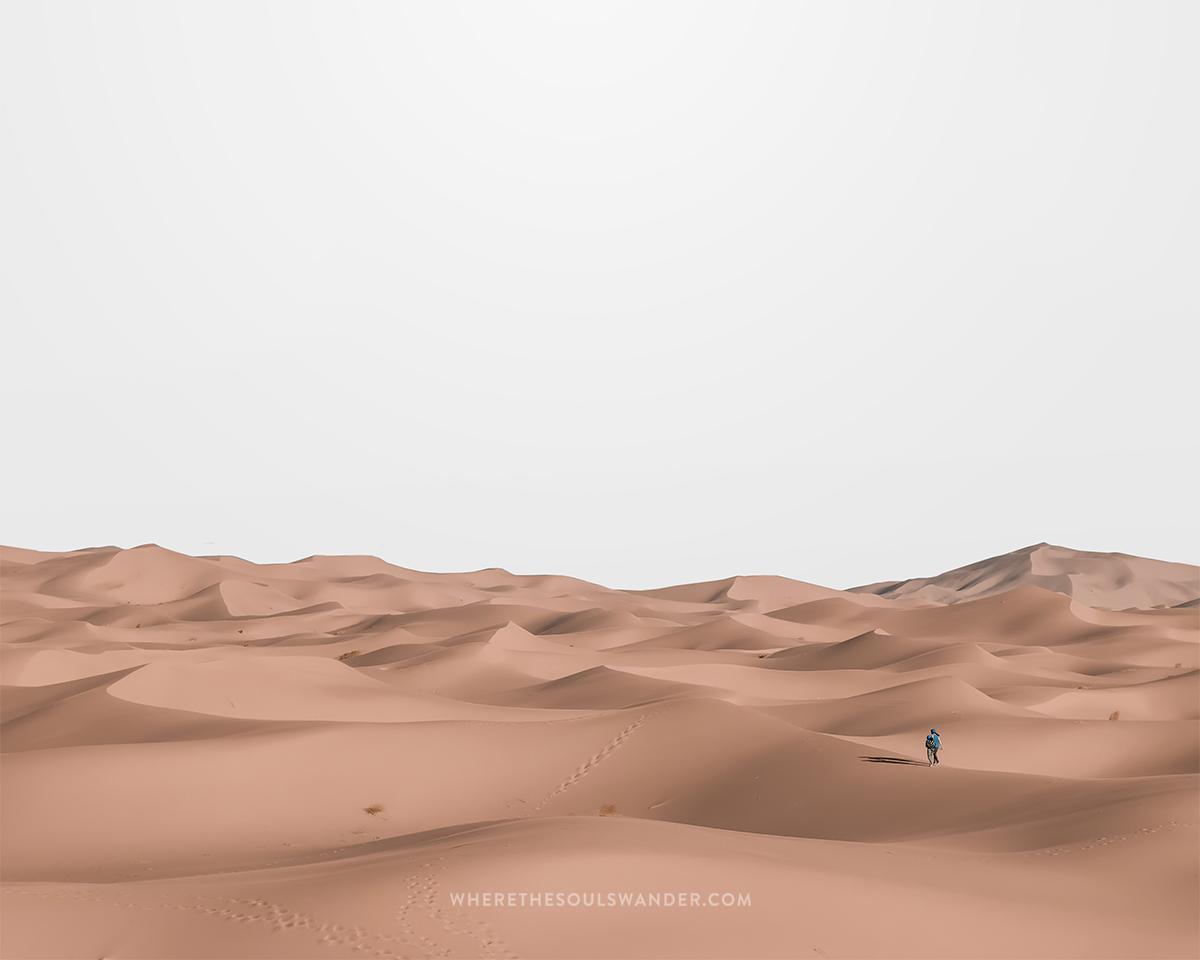 Morocco backpackers