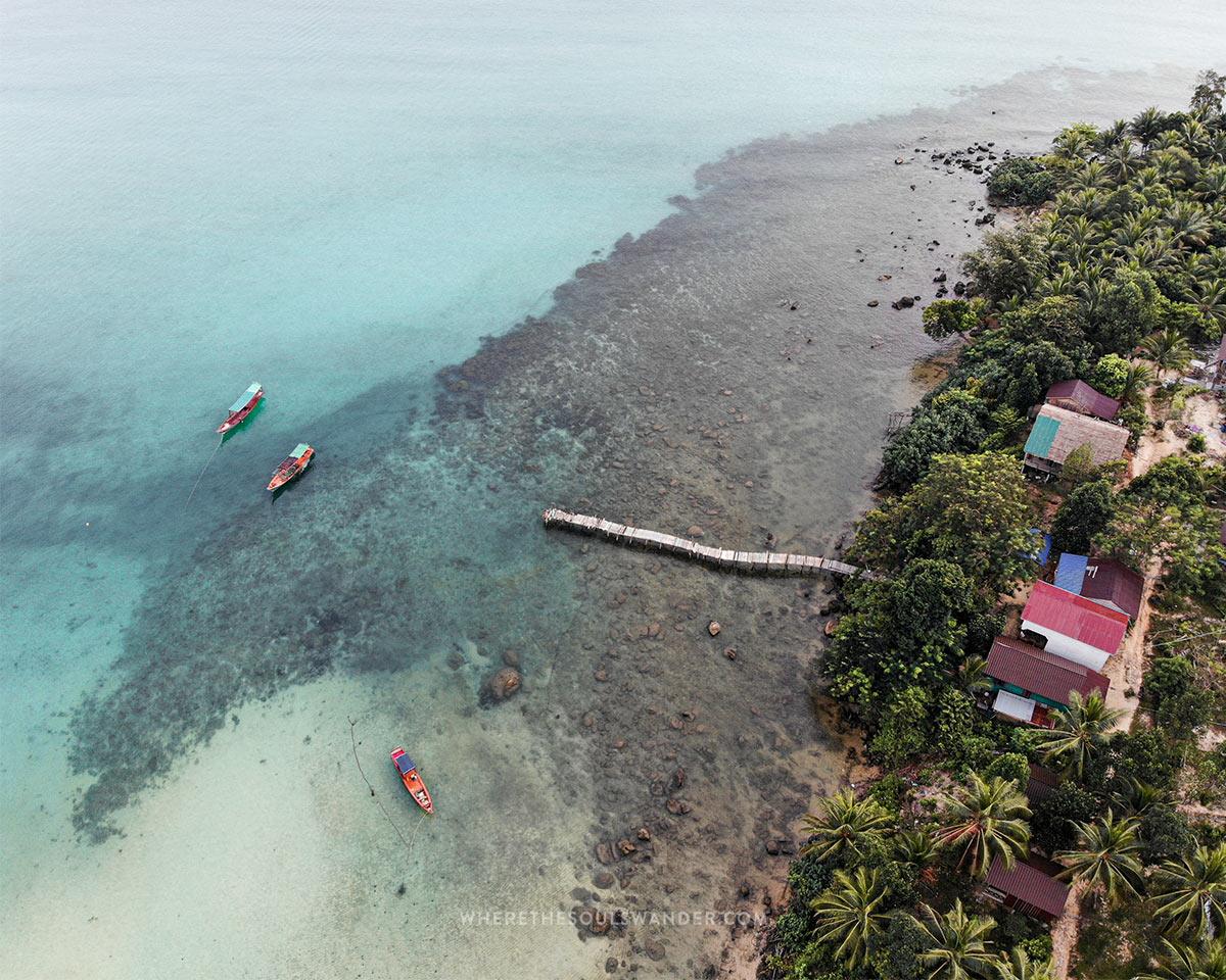 Cambodia islands
