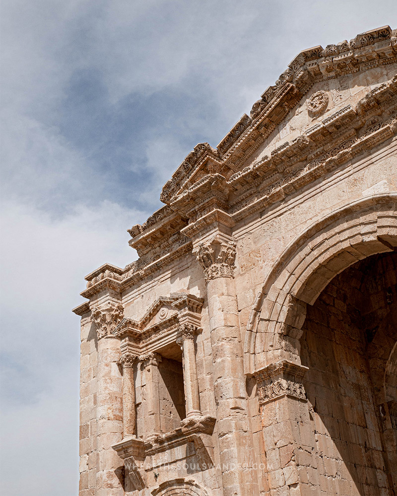 day trip from Amman to Jerash