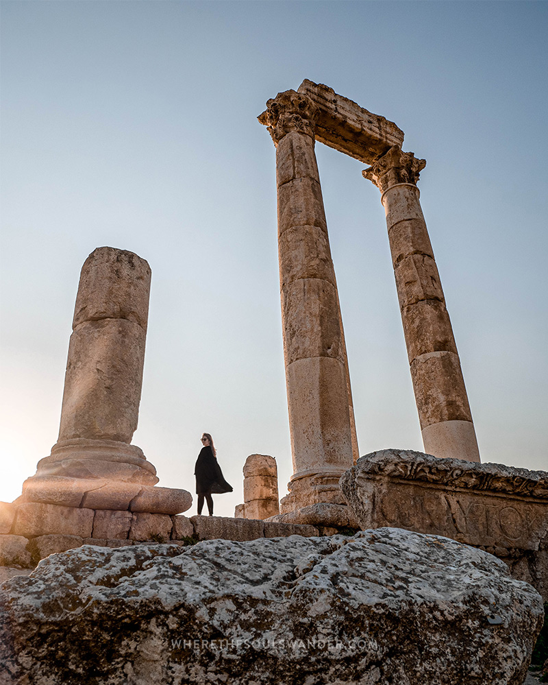 Places to visit in Jordan Amman