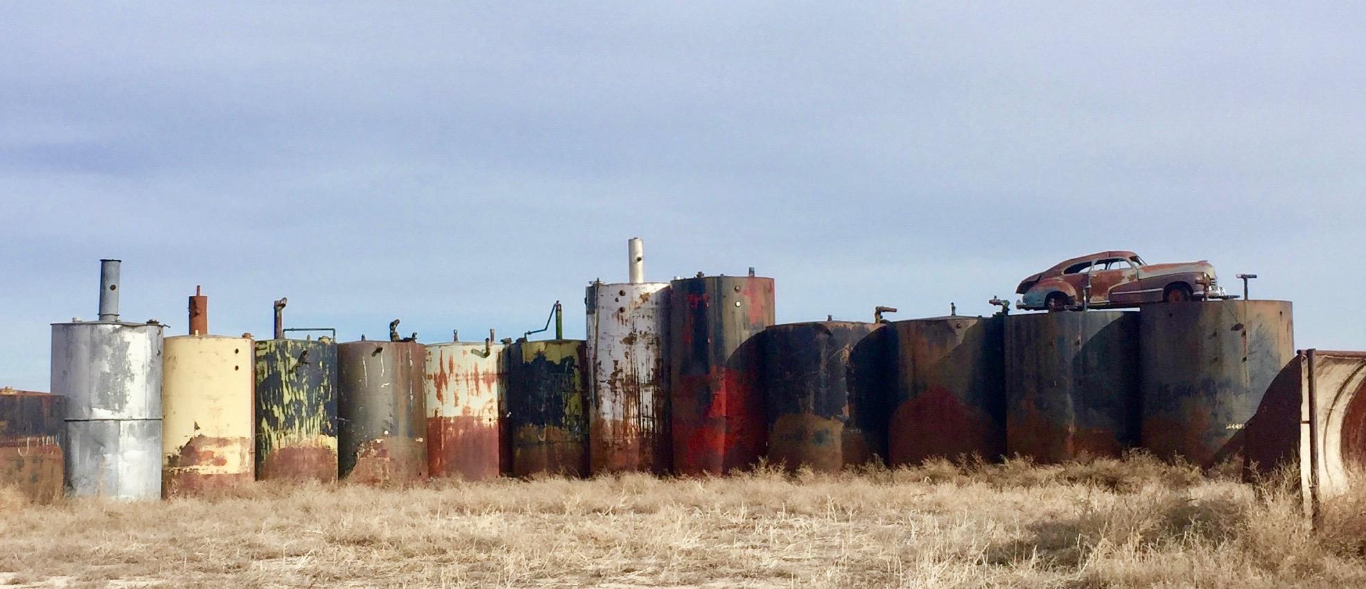 Fuel Fossils , near Wauneta, NE