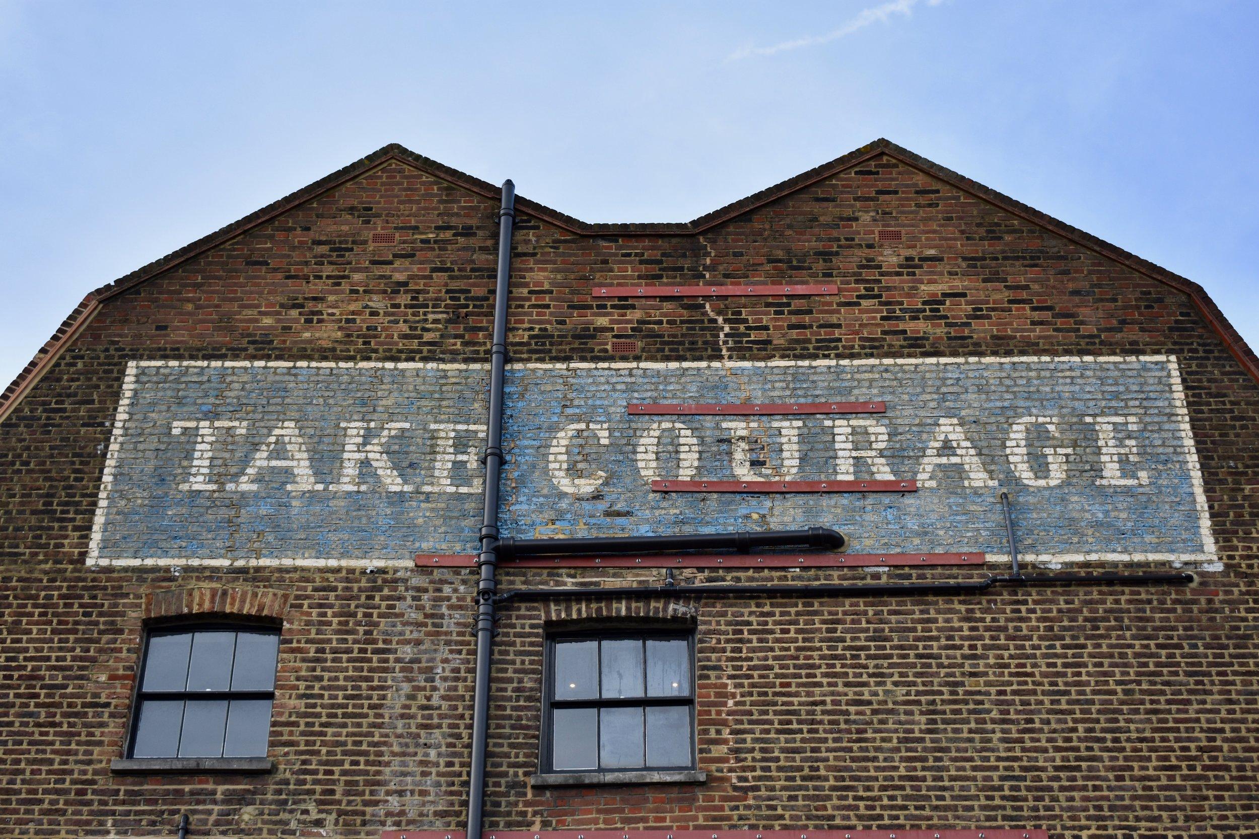Take Courage , near Borough Market, London, England