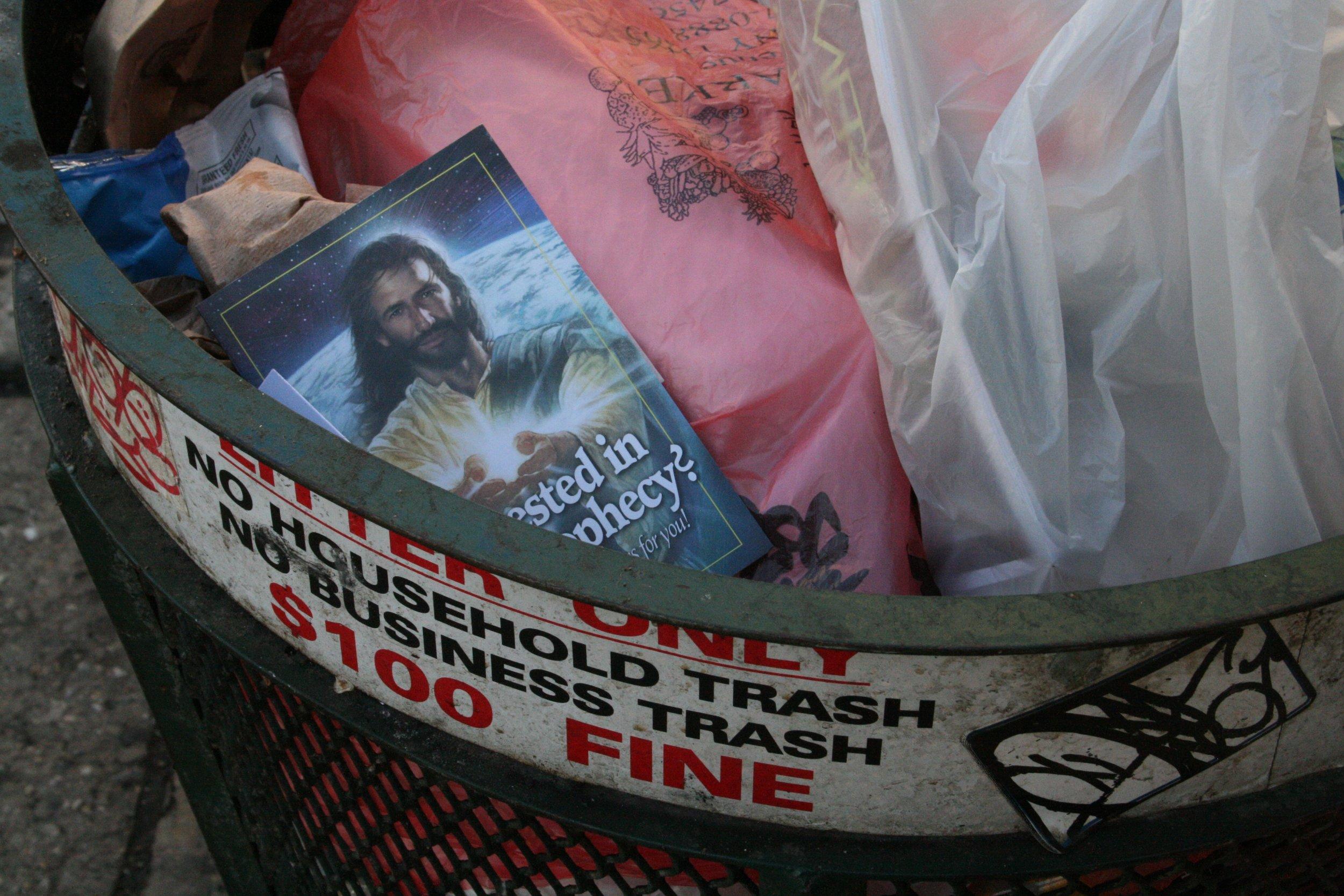 No Household Trash,  New York City, NY