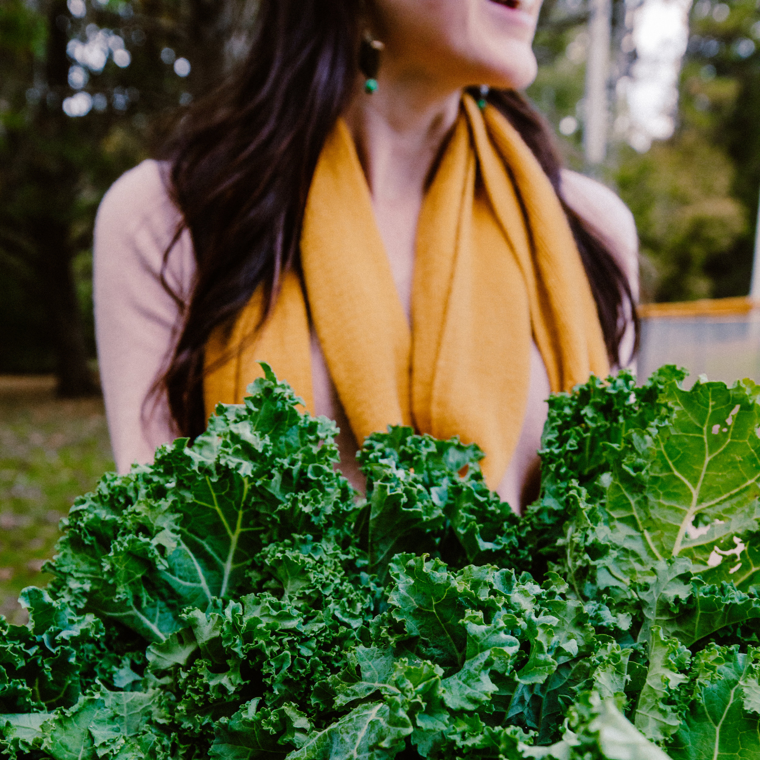 Inhale kale… - exhale delicious flavorful chips.