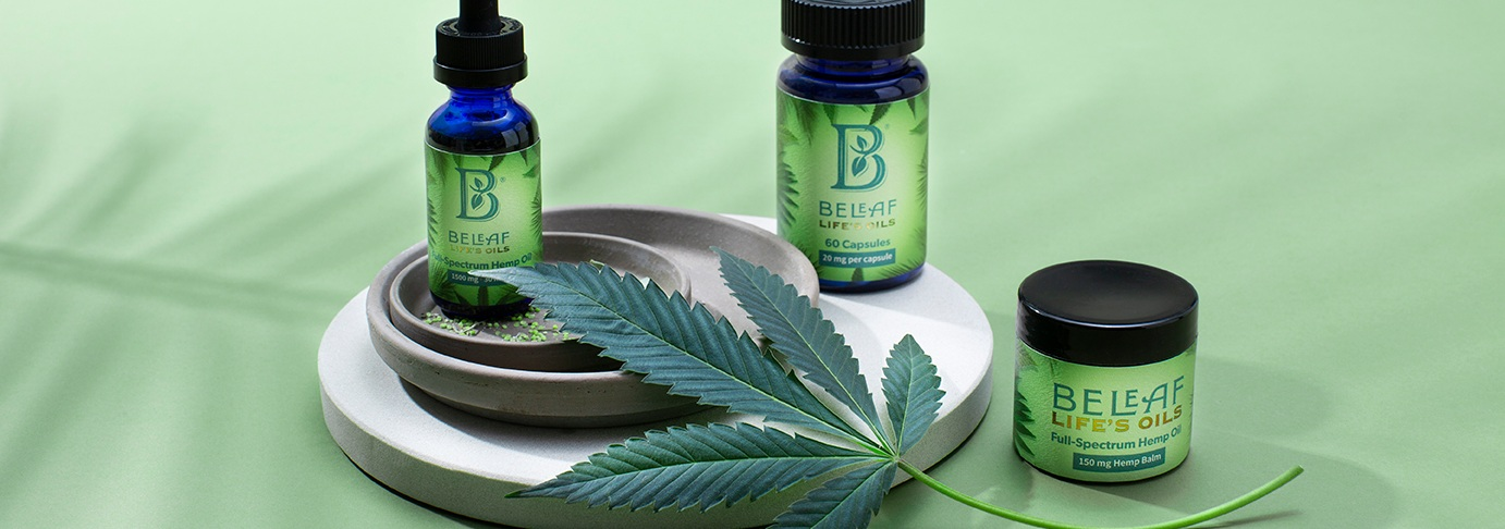 BeLeaf Full-Spectrum CBD Oils — The Corner Suite