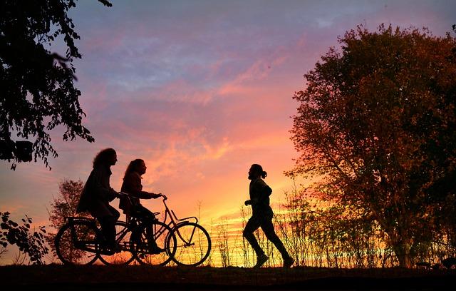 cycling-jogging
