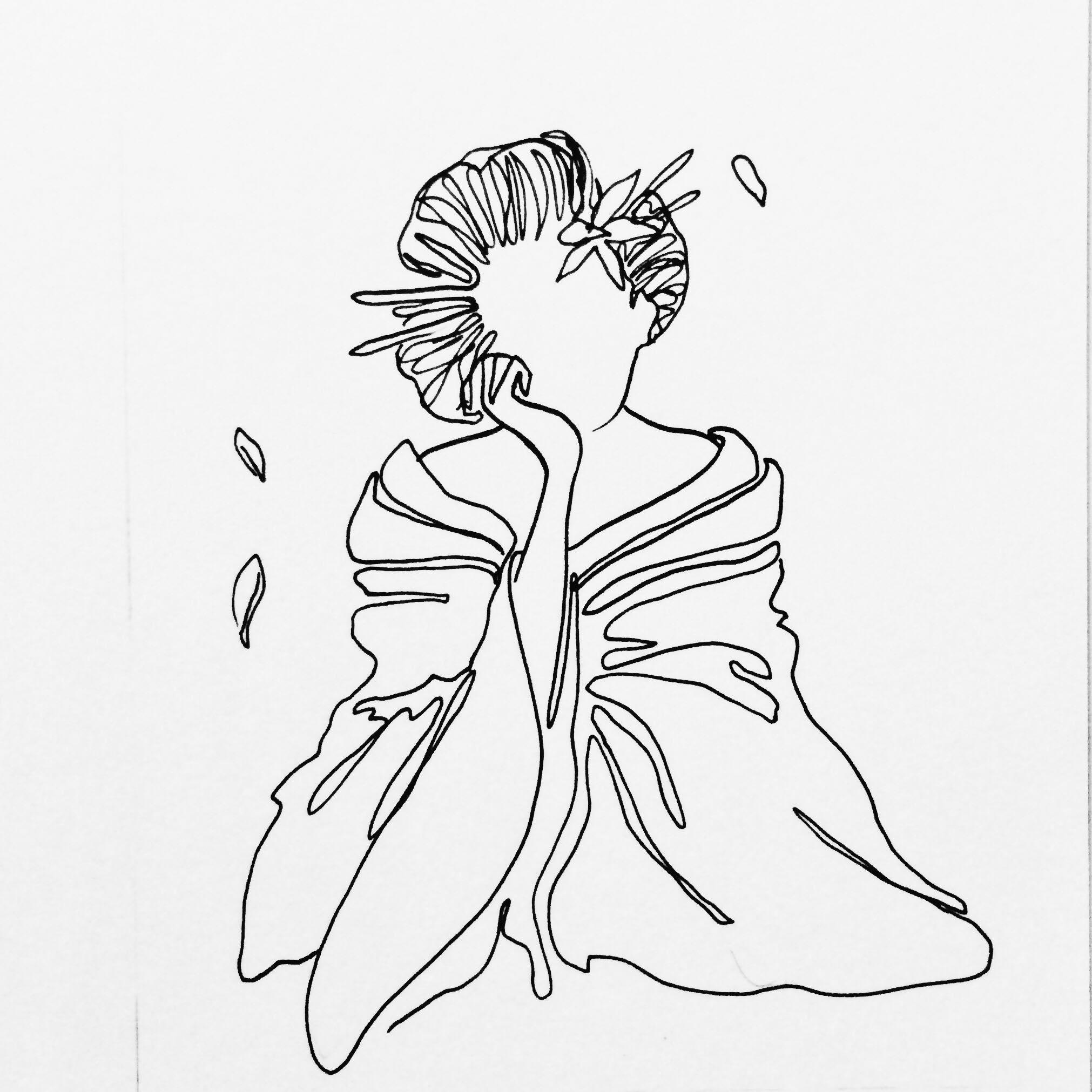 She creates and conserves - geisha green