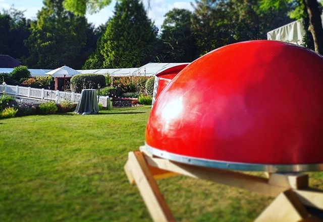 Portable pizza ovens and pizza vans for weddings, parties and event catering