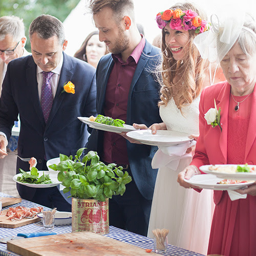 Pizza catering for weddings in London and Surrey - The Pizza Project