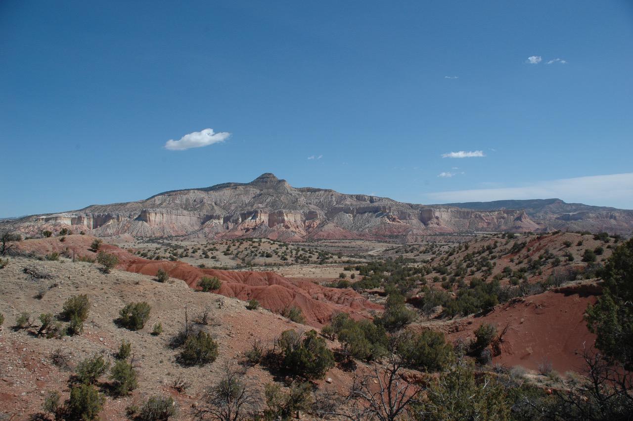 The vast landscape