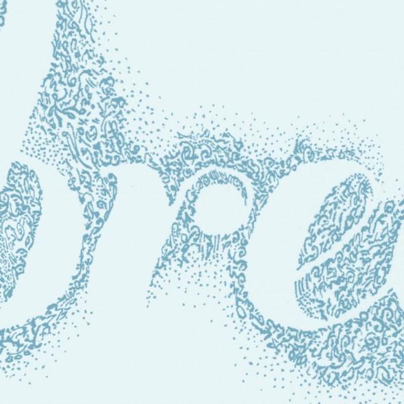 "BREATHE (detail), Originally ink on watercolour paper, 12"" x 8"" (30.5cm x 20.32cm)"