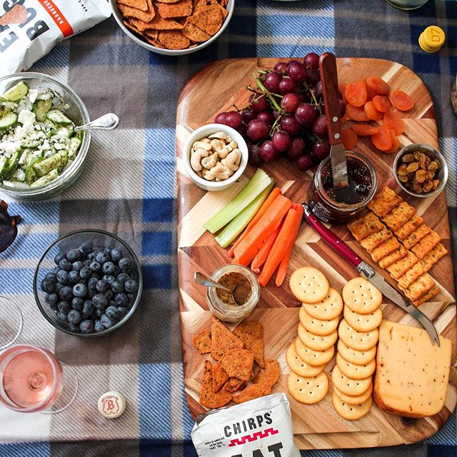 A spread fit for a queen. Loved this shoot for @eatchirps because I got to get my charcuterie board skills out!