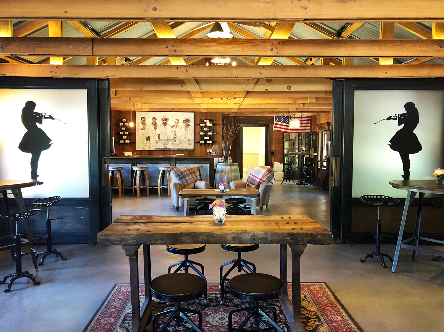 Refugio Ranch Vineyard Tasting Room