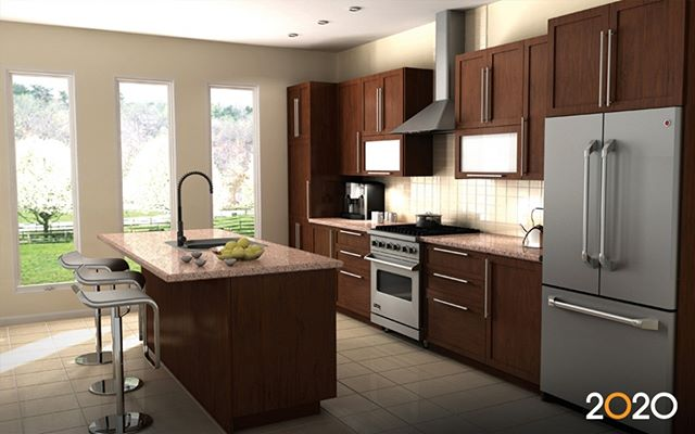 Wonder what it's like to work with a Total Kitchen Outfitters designer? Our designers talk to you about: Your needs: each person's are unique Your taste: you've got style! Your budget: we'll present options to fit your budget Your timeline: let us know when you want the job completed Your home's architecture: our designers will blend your new kitchen's style with the rest of your home, creating continuity. We utilize advanced design software to produce a lifelike rendering of your future kitchen.