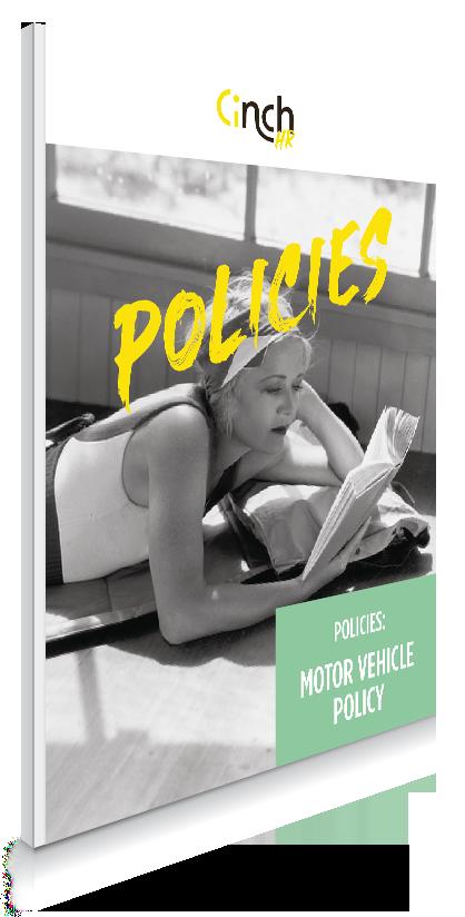 Policies Motor Vehicle Policy