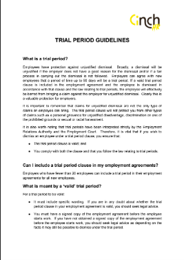 Sneak peek of the guidelines! Fill out the form to get the full doc.