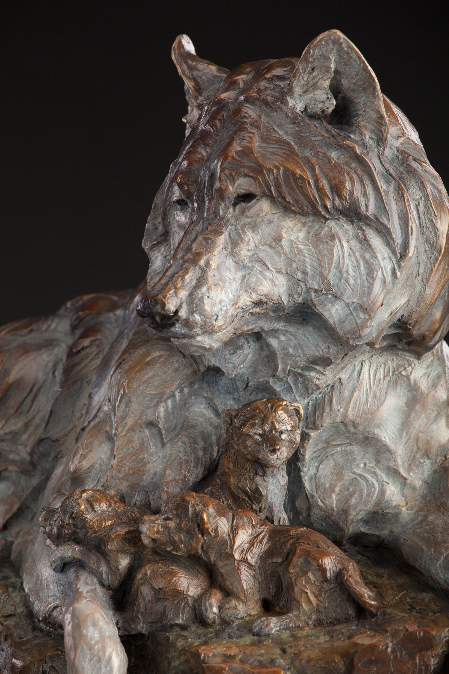 "Den Mother   16"" x 17"" x 10""   Bronze   Edition of 35   $4,500"