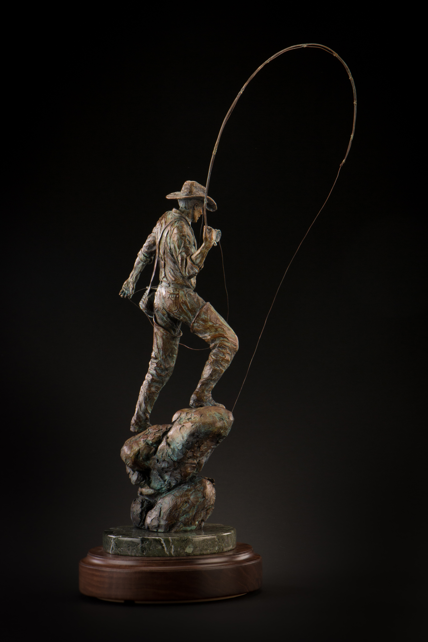 "Hooked | 16""H (22""H w/rod) x 10"" x 6"" 