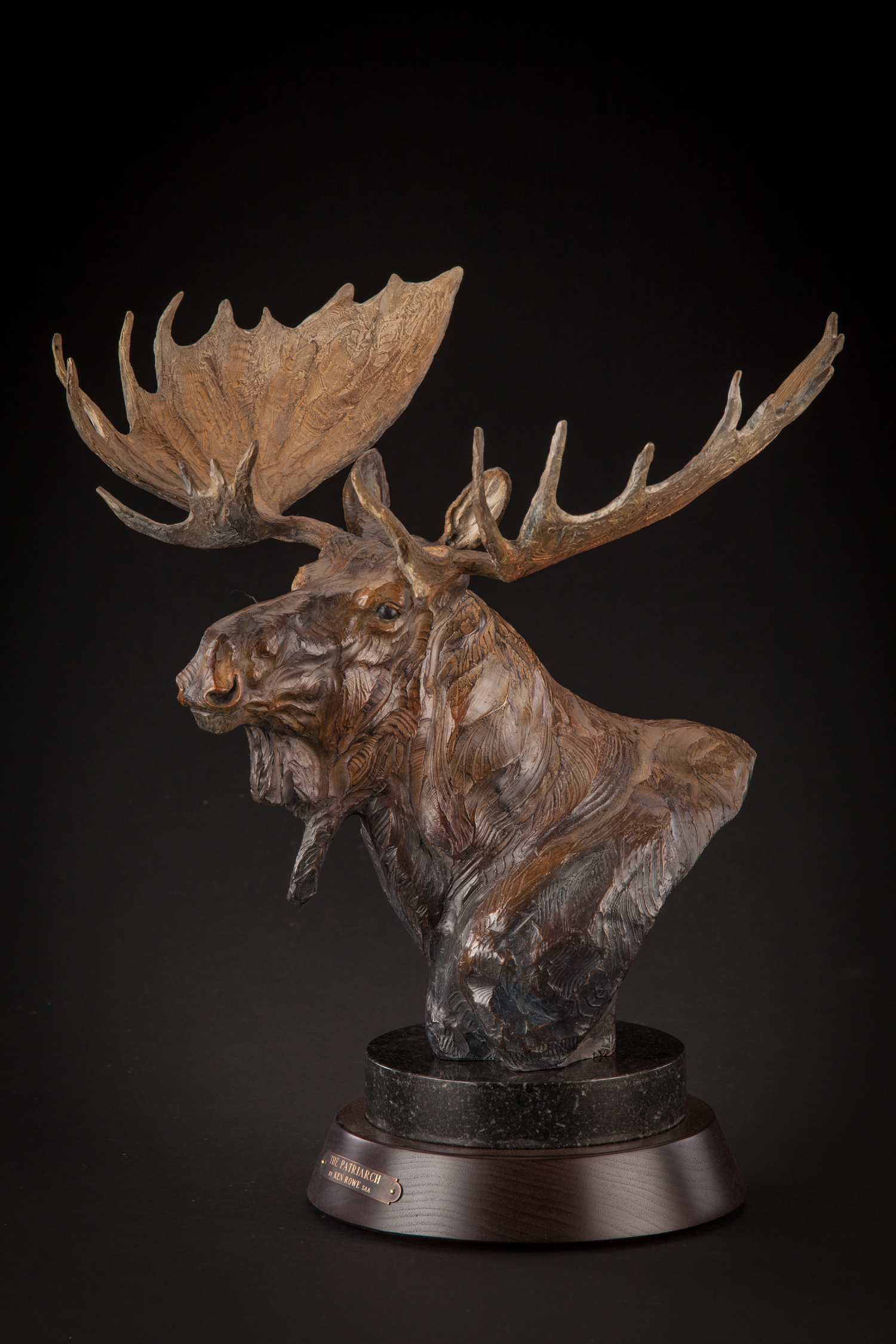 "The Patriarch   19"" x 14"" x  11""   Bronze   Original Bronze   $3,200"