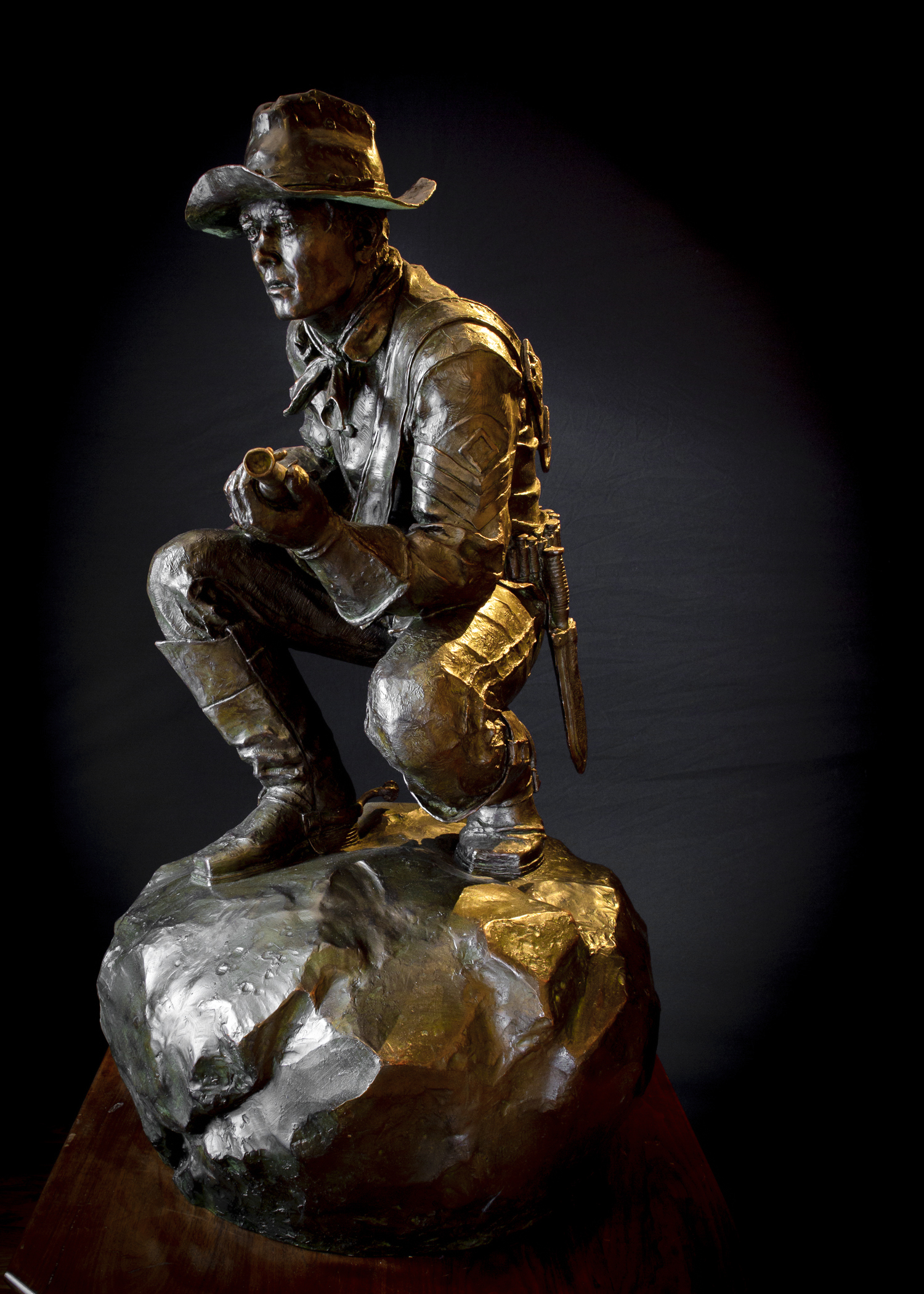 "The Trooper | 42"" x 30"" x 21"" 
