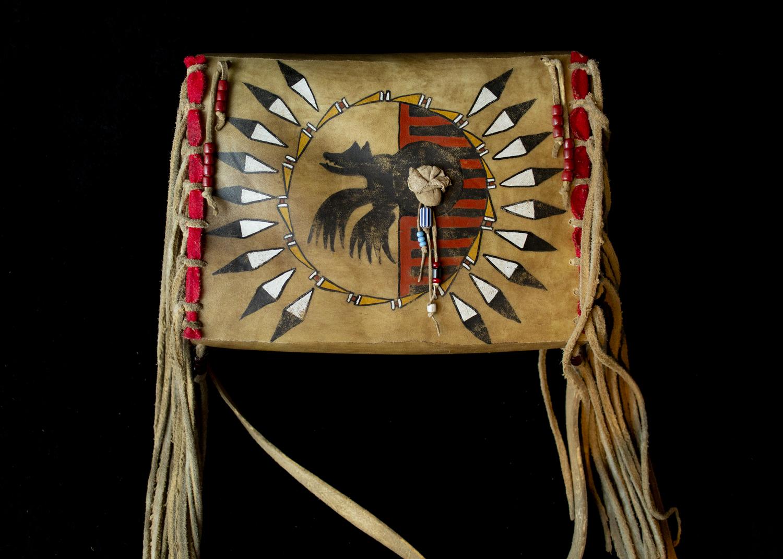 "Bear Society Gusset Bag | 8"" x 11"" | $370"
