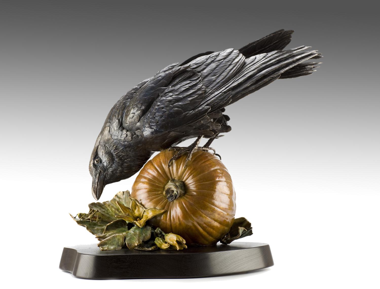 "Ravenous | 18"" x 13"" x 11"" | Bronze | Edition of 45 | $7,000"