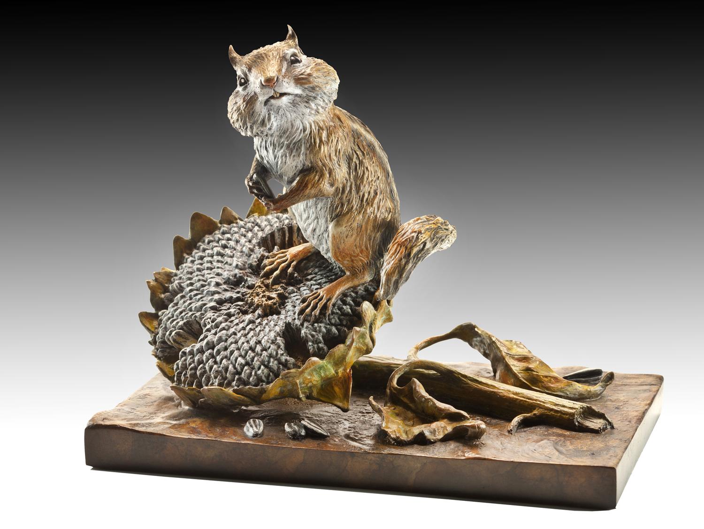 "Windfall | 8"" x 9"" x 5"" | Bronze | Edition of 65 | $2,200"