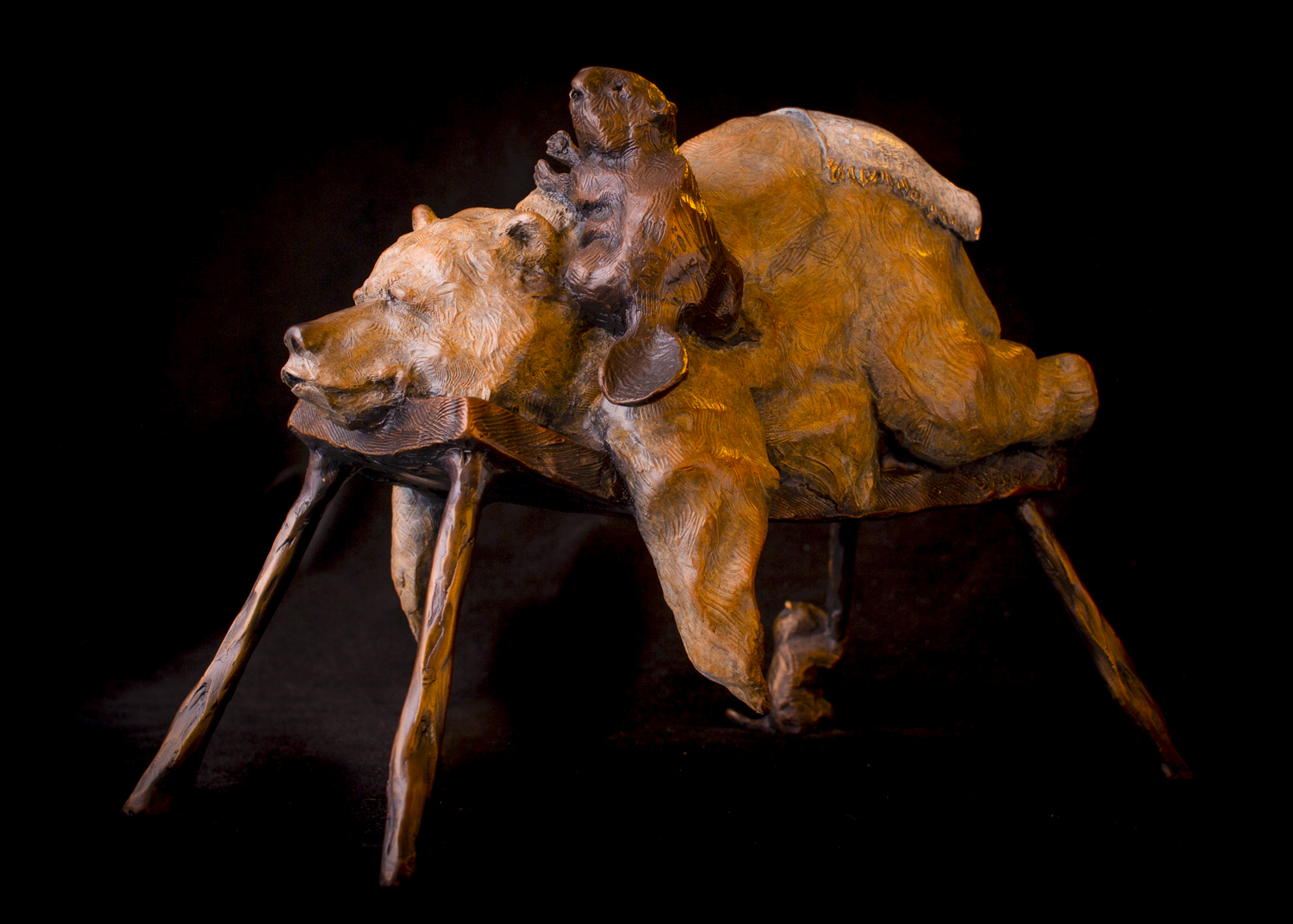 "Bear Necessities | 10"" x 12"" x 8"" 
