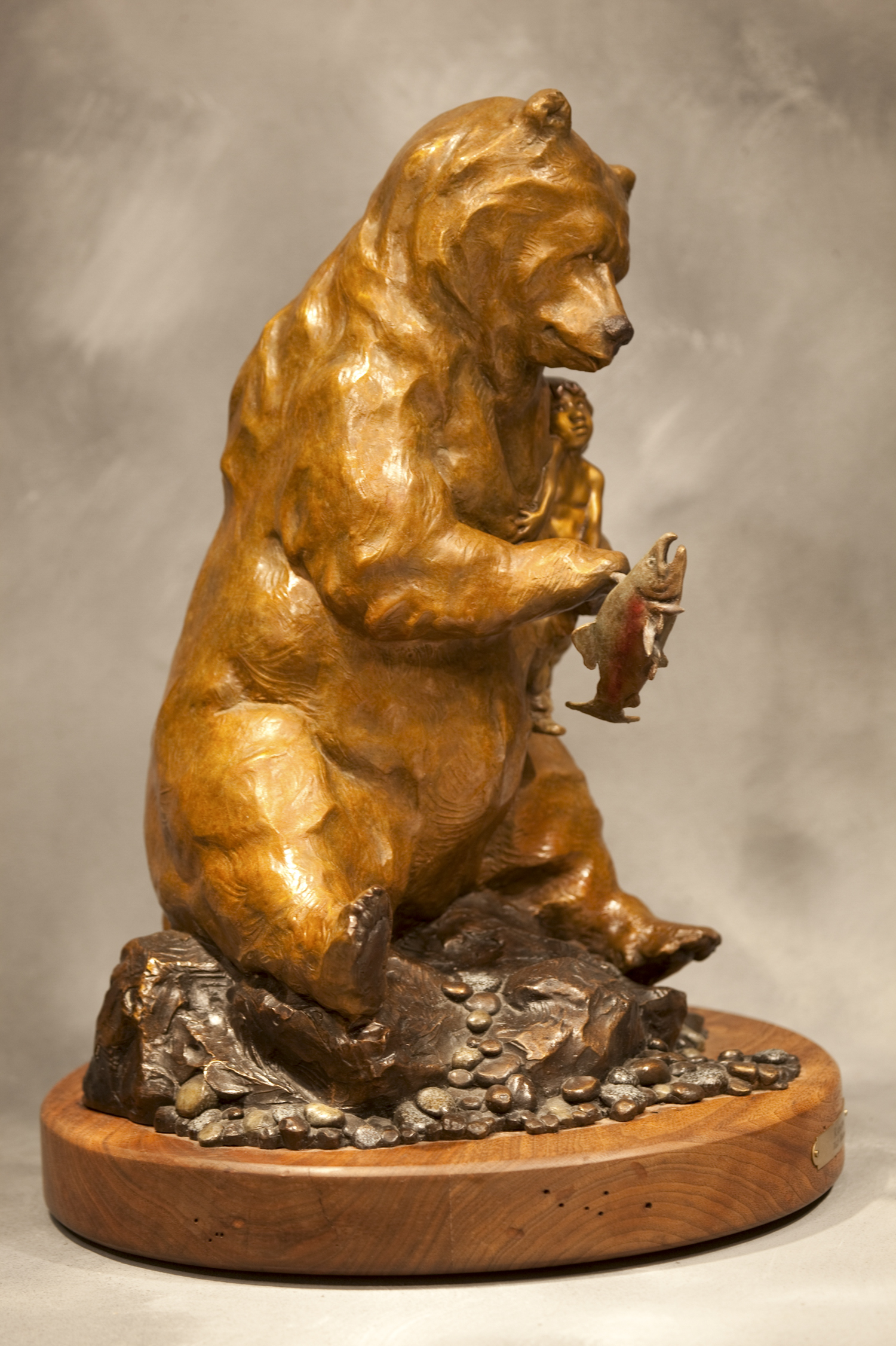 "Ransom (Maquette) | 17"" x 7"" x 9"" 