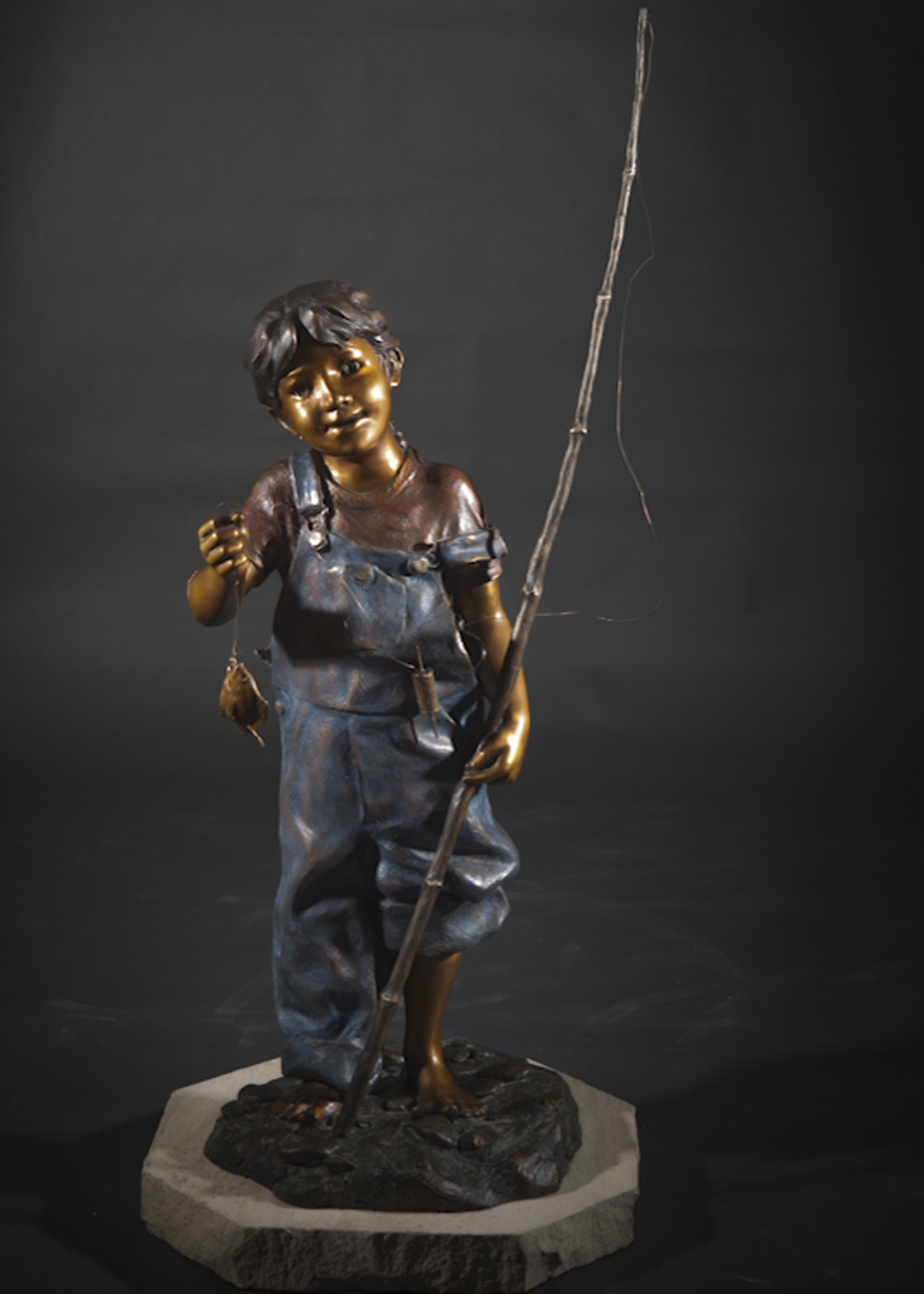 "Can I Keep Him? |  46"" x 21"" x 21"" 