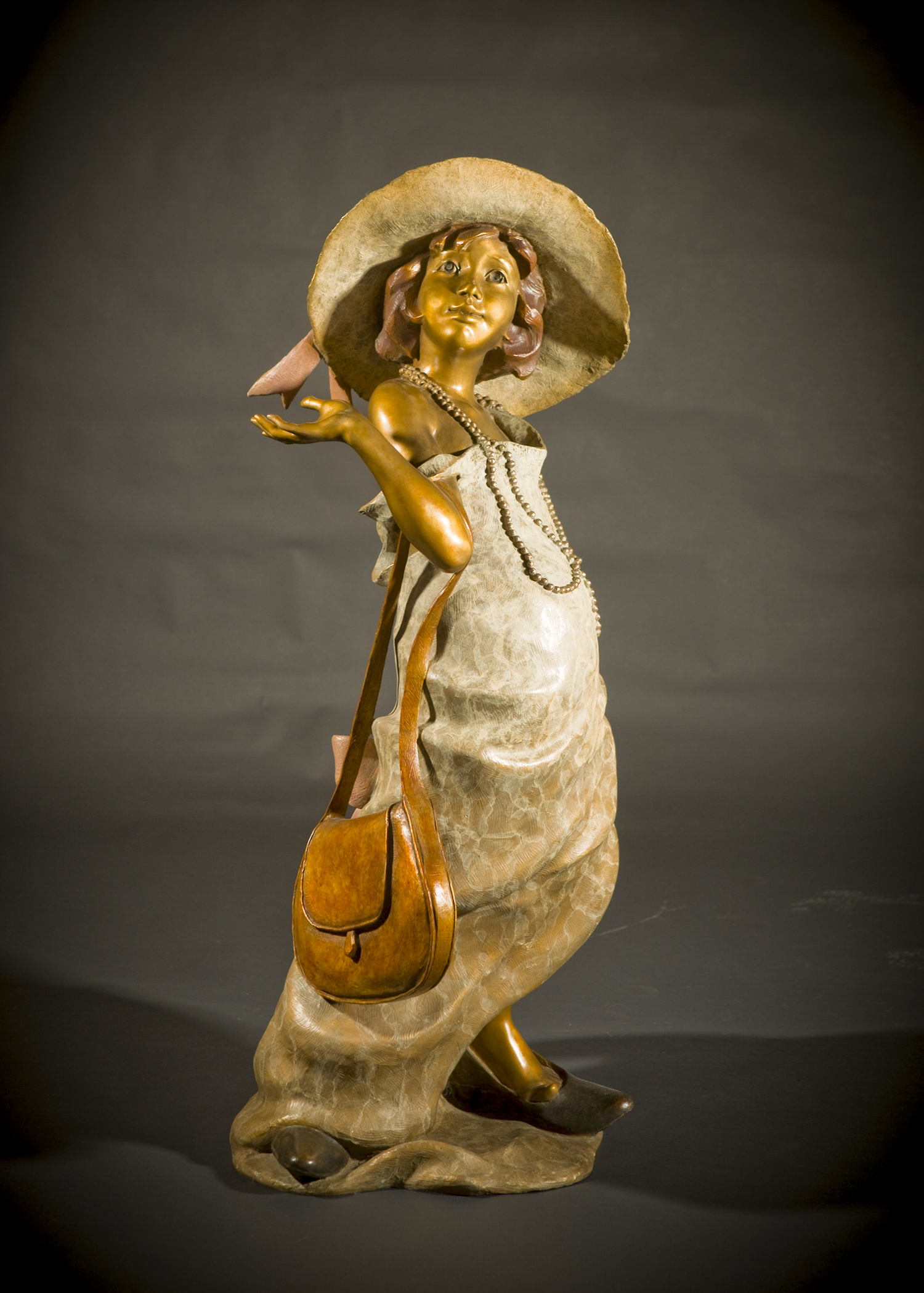 "Lil' Lady (Maquette) | 19"" x 8"" x 8"" 
